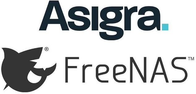 Freenas asigra